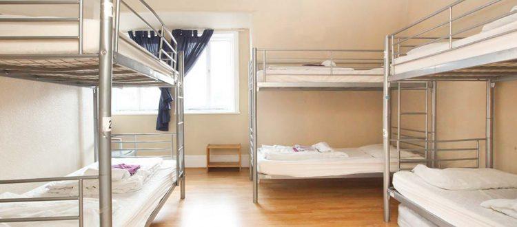 6 Bedroom Dorm - New Cross Inn Room 17