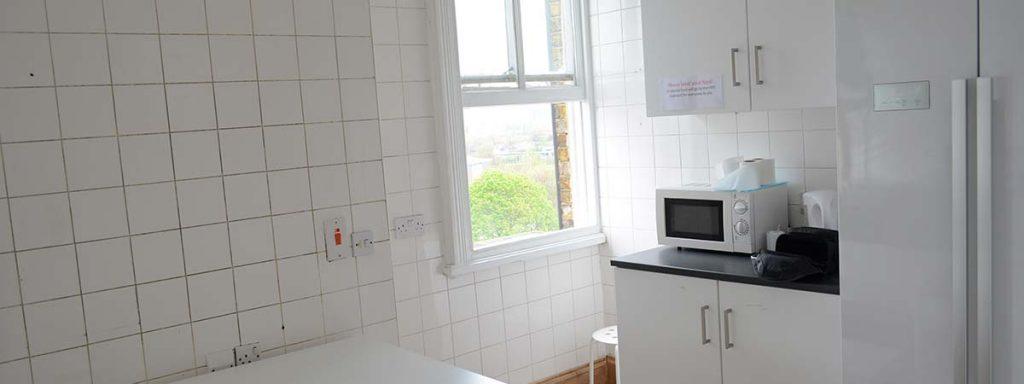 Shared Kitchen - New Cross Inn Hostel