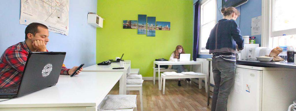 Common Room with Sky TV - New Cross Inn Hostel