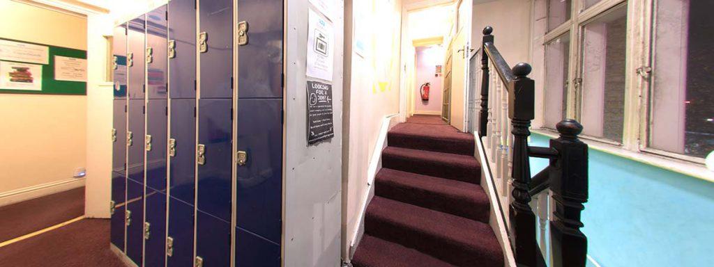 Security Lockers - New Cross Inn Hostel