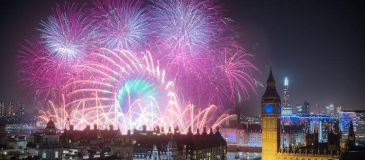 London New Year's Eve Fireworks